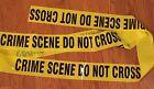 """2 ROLLS CRIME SCENE DO NOT CROSS TAPE - 100 FEET 3"""" WIDE - CSI FBI POLICE TAPE"""