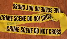 CRIME SCENE DO NOT CROSS TAPE - 3 INCH 100 FEET - CSI FBI POLICE TAPE