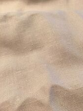 Bottom Weight Beige Linen Fabric
