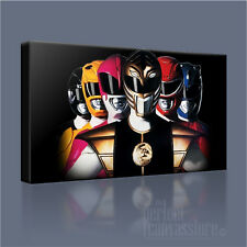 MIGHTY MORPHIN POWER RANGERS MYSTIC FORCE AWESOME ICONIC CANVAS ART ArtWilliams