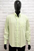 Camicia Uomo MARINA YACHTING Taglia Size L Shirt Maglia Cotone Man Manica Lunga