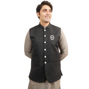 Men's bori Jamawaar Smart Slim Fit Waistcoat
