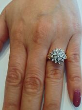 14kt Gold Ring with Diamond. Birthstone