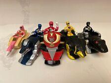 "Mighty Morphin Power Rangers Movie - 4"" Figure w/ Zords (Saban, TCFFC, 1993)"