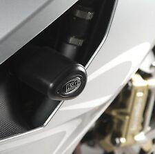 R&G RACING Aero Crash Protectors, Aprilia RSVR 2006- *BLACK*