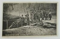 Postcard People Going Down in Mammoth Cave Kentucky