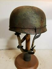 WWII German M38 Fallschirmjager Normandy  Paratrooper Helmet
