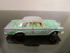 Vintage Original Mercedes 300 SE No 46 Matchbox Lesney Green White Interior~