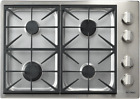 """Dacor DYCT304GS/LP/H Discovery 30"""" Propane High Altitude Cooktop Stainless Steel photo"""