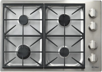 """Dacor DYCT304GS/LP/H Discovery 30"""" Gas Cooktop Propane High Altitude Stainless"""