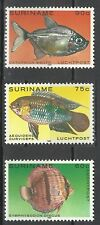 Suriname Faune Marines Poissons Papillon Tropicaux Tropical Fishes Fishe ** 1980