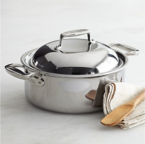 All-Clad SD7 D7 6-Quart Stockpot w/ Domed Lid Slow Cooker Rare