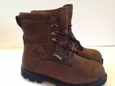 Rocky Men's Ranger 6223 Leather 600g GoreTex Steel Toe Work Boots (600) Size 11