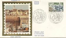 FIRST DAY COVER / 1° JOUR FRANCE / EUROPA / PORT BRETON 1977 PARIS