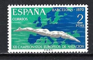 Espagne 1970 Natation Yvert n° 1644 neuf ** MNH