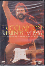 Dvd **ERIC CLAPTON & FRIENDS LIVE 1986** con Phil Collins Nathan East nuovo