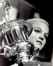 1971 Wire Photo winner of US National Gymnastic Champ trophy gymnast Cathy Rigby