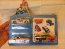 Matchbox Street Racers Car 3 Packs Puffy Stickers '57 Chevy '62 & '79 Corvette