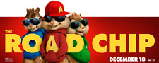 Alvin and the chipmunks Poster Length: 1200 mm Height: 500 mm  SKU: 1587