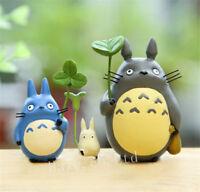 3pcs/Set Studio Ghibli My Neighbor Totoro Resin Figure