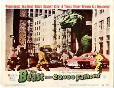 Beast from 20,000 Fathoms 1953 Lobby Card Set.