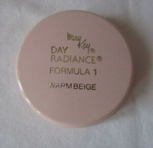 Mary Kay Day Radiance Formula 1 Warm Beige Cream Foundation NOS