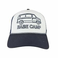 The North Face Cross Stitch Trucker Hat Cap, TNF White/Urban Navy, One Size