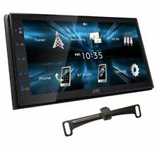 "JVC KW-M150BT Digital Media car audio Receiver 6.8""Touchscreen+Backup cam Camera"