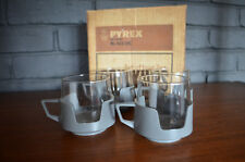 Vintage Pyrex Drinkups Original Box Drinkmaster VW RETRO MID CENTURY 60'S 70'S