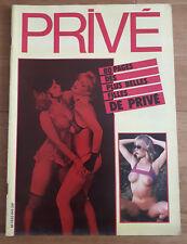Magazine érotique PRIVE N° 8 H-S Irina Ionesco 1985