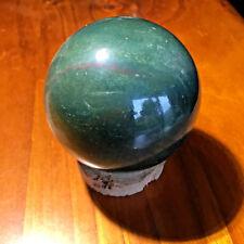 BLOODSTONE SPHERE - Crystal Mineral Specimen
