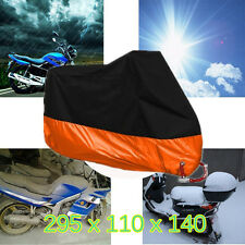 XXXL Orange Motorcycle Cover For Harley Davidson Electra Glide CVO Ultra Classic