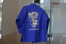 "Winners Zone Swift Karate Martial Art Uniform Gi Blue Jacket Pants #000 3'5"""
