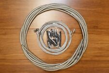 OEM Jagwire brake shifter cable Braided housing kit - Braided Titanium -