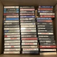 Build your own cassette tape Lot classical Opera Rock 70's 80's rare