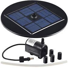 Agora-Tec® Solar Teichpumpe Gartenteich Springbrunnen Springbrunnenpumpe Pumpe
