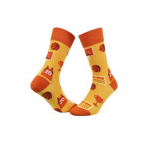 Farbenfrohe Socken Herrensocken Damenstrümpfe Livoni Motivsocken 1 Paar