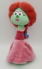 "11"" VeggieTales Sweetpea Beauty Rhubarb Plush Doll 2011 DAMAGE Tag Removed"