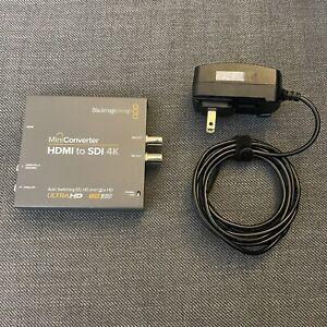 Blackmagic Design Mini Converter HDMI to SDI 4K - 6G, 3G, HD SDI Video Converter