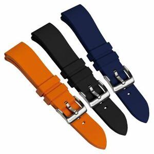 ZULUDIVER® Zennor Quick Release FKM Rubber Watch Strap 20mm & 22mm