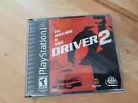 Driver 2 (Sony PlayStation 1 PS1, 2000) CIB Complete Black Label  Booklet Wear