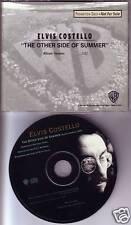 ELVIS COSTELLO Other Side of Summer PROMO Radio DJ CD Single 1991 USA MINT