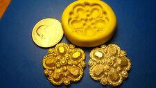 Wedding Cake Bling jewels Silicone Mold Fondant Gumpaste isomalt clay 300-21