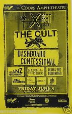 Cult/Dashboard Confessional/Panic At The Disco '06 San Diego Concert Tour Poster