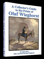 Collectors Guide to the Prints of Olaf Wieghorst - signed by Author- Great Gift