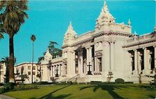 Riverside California~Riverside County Court House~1970s Postcard