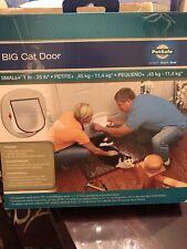 New listing PetSafe Big Cat Door 4 Way Lock to 25 lbs Pet Door