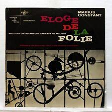 MARIUS CONSTANT eloge de la folie ENSEMBLE ARS NOVA - ERATO LP EX+