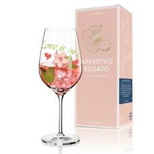 Ritzenhoff APERITIVO ROSATO Aperitifglas Weinglas LOVE by Anissa Mendil 2014