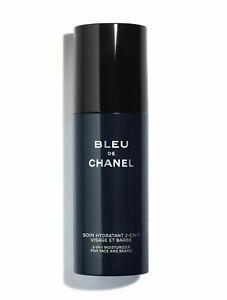 BLEU DE CHANEL 2-in-1 Moisturizer for Face and Beard